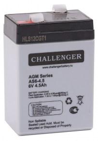 Аккумуляторная-батарея-Challenger-AS6-4.5-6v-4.5Ah