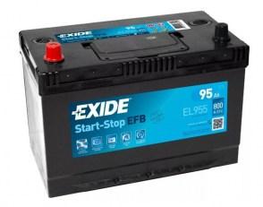 Аккумулятор-EXIDE-Start-Stop-EFB-EL955-95Ah-800A