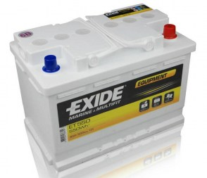 Лодочный аккумулятор Exide Equipment ET550 12V 80Ah 600A