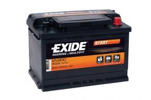 Лодочный аккумулятор Exide MARINE MULTIFIT START EN800 90Ah 720A