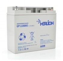 Тяговый аккумулятор MERLION AGM GP1220 12V 20Ah