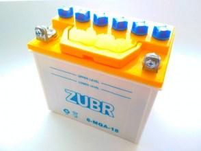 Аккумулятор на мотоблок ZUBR 6-MQA-18 18Ач 170A