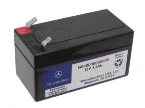 Аккумулятор резервный MERCEDES-BENZ N000000004039 12v 1.2Ah