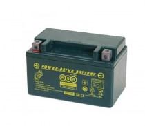 Мото аккумулятор WBR MTG 12-7 YTX7A-BS 12v 7Ah 90A