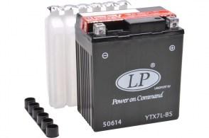 Мото аккумулятор LP AGM YTX7L-BS 12v 6Ah 100A