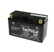 Мото аккумулятор Toplite MF YT7B-BS 12v 6.5Ah 110A