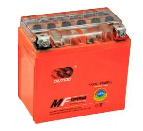 Мото аккумулятор OUTDO GEL YTX5L-BS 12v 4Ah-80A