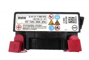 Аккумулятор резервный на BMW AGM/VRLA 61217586976 12v 12Ah 200A (EN)
