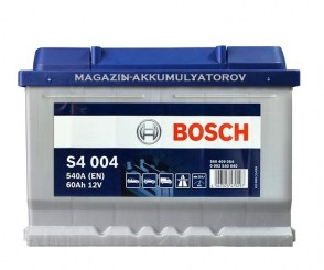 akkumulyator_OPEL_PEUGEOT_FORD_FIAT_Volkswagen_SKODA-Bosch-S4-004-60Аh-540A-0092S40040