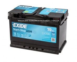 EXIDE_CK700_START-STOP_AGM-70Ah_760A