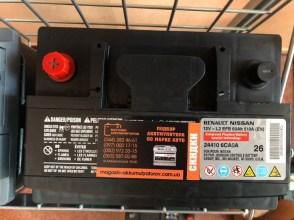 Аккумулятор RENAULT / NISSAN 12V - L2 EFB 60Ah 510A (EN) 24410-6CA0A