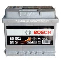 akkumulyator-bosch-s5-001-52аh-520a-fiat-kia-Hyundai-Getz-Ассent-Ford-Fiat-Skoda-Volkswagen-Opel-Audi-Renault