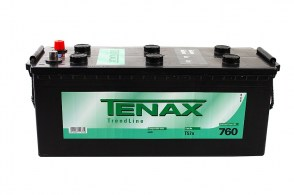 Tenax Trend HD T57n 640035076 12v 6CT-140Ah 760A Аккумулятор для грузовых автомобилей