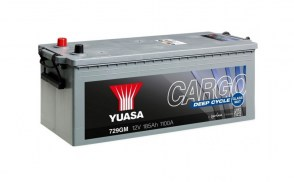 Грузовой-aккумулятор-Yuasa-Cargo-DEEP-CYCLE-729GM-12v-185Ah-1100A