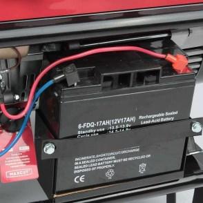 Аккумулятор 6FDQ-17AH для бензинового/дизельного генератора мощностью 5-8кВт 12v 17Ah 170A