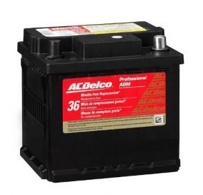 Аккумулятор ACDelco 9943 AGM/VRLA 12v 50Ah 520 CCA