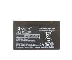Аккумулятор Aroma 3-FM-10(6V10AH/20HR) для детского электромобиля