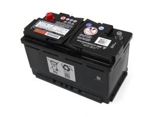 Аккумулятор BANNER AGM 12v 80Ah 800A на PORSCHE CAYMAN 991