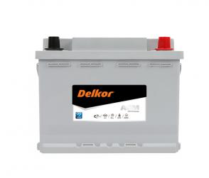 Аккумулятор DELKOR AGM60L-DIN 12v 60Ah 640A