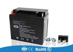 Аккумулятор для бензогенератора мощностью 5-7кВТ 6-FM-14 12v 14ah 200А
