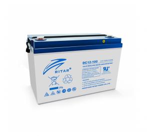 Аккумулятор для лодочного мотора RITAR DC12-100 12V 100Ah