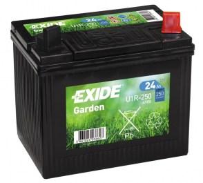 Аккумулятор EXIDE U1R-250 для дизельного генератора мощностью 5-8кВТ 12v 24Ah 250A