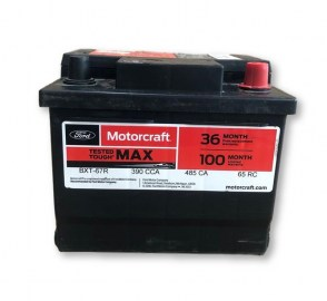 Аккумулятор на Ford Motorcraft BTX-67R 12v 44Ah 390A