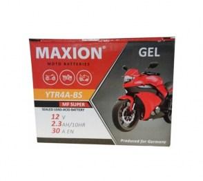 Аккумулятор на HONDA DIO MAXION GEL YTR4A-BS 12v 2.3Ah