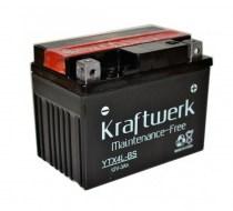 Аккумулятор на скутер kraftwerk YTX4L-BS 12v 3Ah 50A