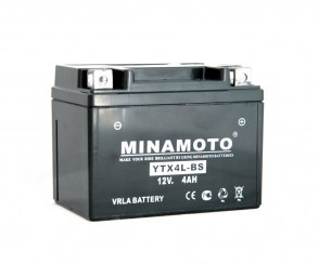 Аккумулятор на скутер Minamoto YTX4L-BS 12v 4Ah 70A