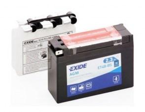 Аккумулятор на скутер YAMAHA/SUZUKI EXIDE AGM ET4B-BS 12v 2.3Ah 35A
