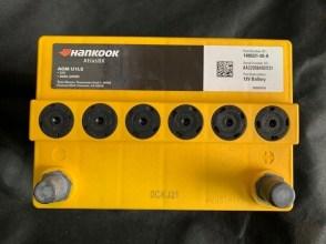 Акумулятор TESLA S AGM U1LS 1480221-00-A 12v 30Ah(20HR)