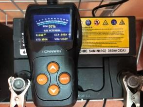 б/у акумулятор до мотоблоку