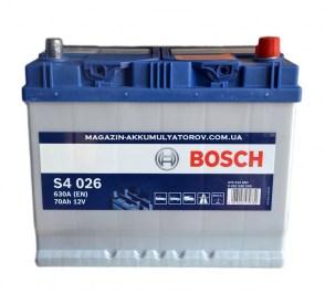 akkumulyator-bosch-s4-026-70аh-ACURA_MDX_Lexus_Infiniti-Toyota_Camry-Mitsubishi-Honda-Hyundai-Kia-Mazda