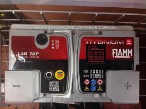 Fiamm Titanium L3B 75Аh 730А