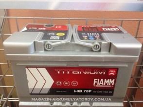 Fiamm Titanium Pro L3B 75Аh 730А
