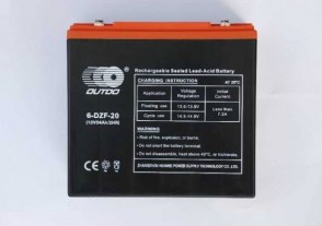 Посилений тяговий акумулятор OUTDO 6-DZF-20 12v 24Ah