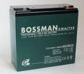 Тяговый аккумулятор BOSSMAN 6DZM20 12V 20Ah20HR