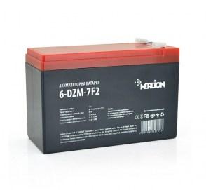 Усиленный аккумулятор MERLION 6-DZM-7 на детский электромобиль 12v 7Ah