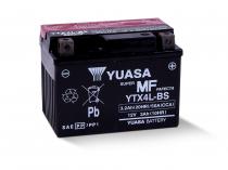 Аккумулятор на скутер YUASA YTX4L-BS 12v 3Ah 50A