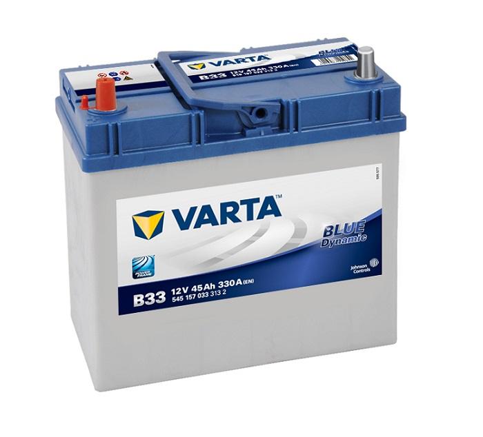 akkumulyator-Nissan-Tiida-Daewoo-Matiz-Suzuki-Jimny-varta-blue-dynamic-b33-45аh-330a