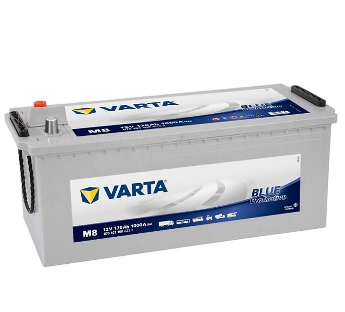 Купить Varta Promotive Blue M8 170Ah 1000A