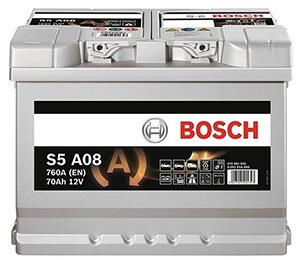 Автомобильные аккумуляторы BOSCH (Бош)