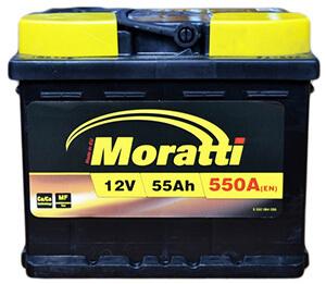 Автомобильные аккумуляторы Moratti (Моратти)
