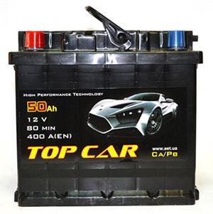 Автомобильные аккумуляторы TOP CAR (Топ Кар)