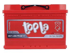 Автомобильные аккумуляторы TOPLA (Топла)