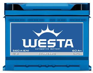 Автомобильные аккумуляторы Westa (Веста)