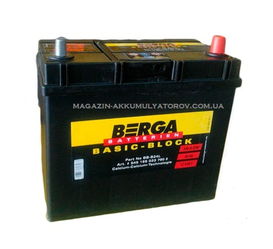 Купить BERGA BASIC-BLOCK 45Ah 330A